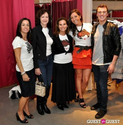 lynda erkiletian in FNO Party at Intermix Georgetown