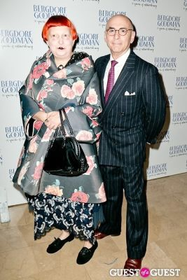 lynn yaeger in Bergdorf Goodman celebrates it's 111th Anniversary at the Plaza
