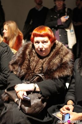 lynn yaeger in NYFW 2013: Monday's Street Style From The Tents