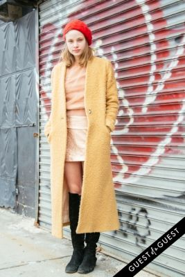 mackenzie leigh in NYFW Street Style Day 3