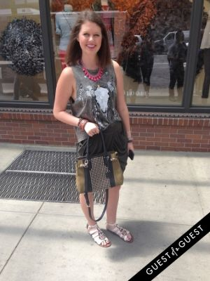 macy livingston in Summer 2014 NYC Street Style