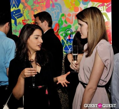 madeline cassella in Young Art Enthusiasts Inaugural Event At Charles Bank Gallery