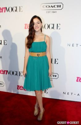 madison davenport in 9th Annual Teen Vogue 'Young Hollywood' Party Sponsored by Coach (At Paramount Studios New York City Street Back Lot)
