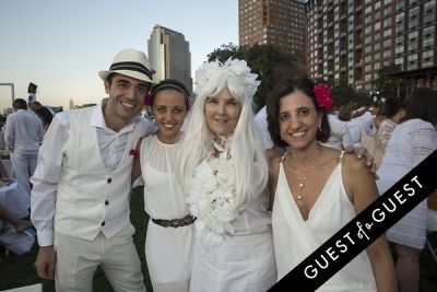 mafa edwards in Diner En Blanc NYC 2014