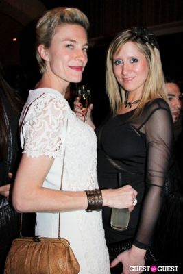 maggie barr in BCBG FW13 After-Party