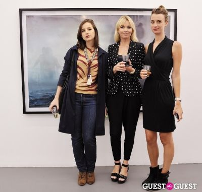 jennifer hamblett in Kim Keever opening at Charles Bank Gallery
