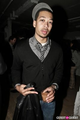 malachi rivers in Andrew Buckler FW10 After Party