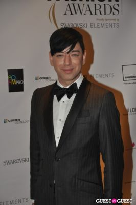 malan breton in WGSN Global Fashion Awards.
