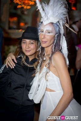 mara balagtas in Mara Hoffman & Pamela Love celebrate Halloween