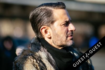 marc jacobs in NYFW Street Style Day 6