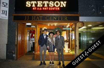 andre saraiva in Stetson and JJ Hat Center Celebrate Old New York with Just Another, One Dapper Street, and The Metro Man