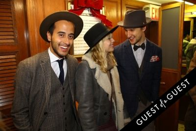 marcel floruss in Stetson and JJ Hat Center Celebrate Old New York with Just Another, One Dapper Street, and The Metro Man