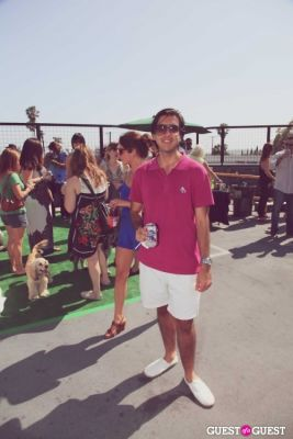 marcelo calasich in FILTER x Burton LA Flagship Store Rooftop Pool Party With White Arrows