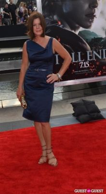 marcia gay-harden in Harry Potter And The Deathly Hallows Part 2 New York Premiere