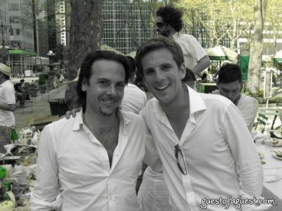 marco amenta in Belgium Brunch in Bryant Park