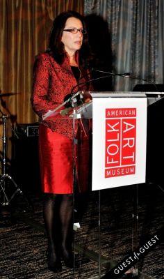 margaret boles-fitzgerald in The American Folk Art Museum Fall Benefit Gala