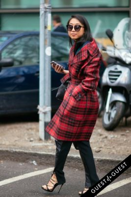 margaret zhang in Milan Fashion Week Pt 3