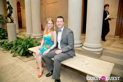 bradley krom in The Frick Collection Garden Party