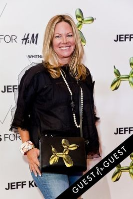 maria bell in Jeff Koons for H&M Launch Party