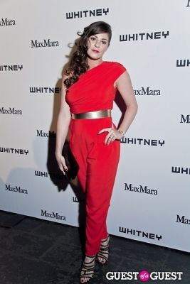 maria giulia-maramotti in 2013 Whitney Art Party