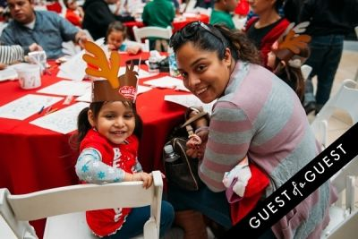 maria milian in The Shops at Montebello Kidgits Breakfast with Santa