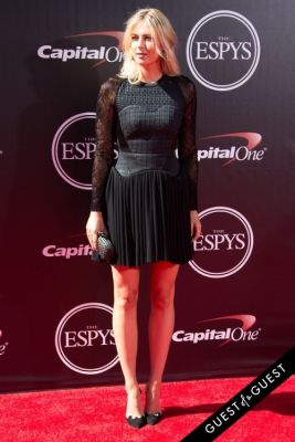 maria sharapova in The 2014 ESPYS at the Nokia Theatre L.A. LIVE - Red Carpet