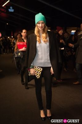 mariana marcki in NYC Fashion Week FW 14 Street Style Day 3