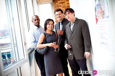marie burgos in Stratus Realty Group Downtown Office Launch
