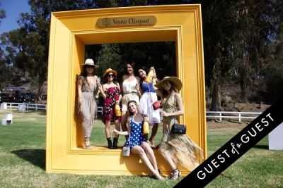 elizabeth gallegos in The Sixth Annual Veuve Clicquot Polo Classic