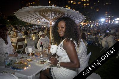 marie etienne in Diner En Blanc NYC 2014