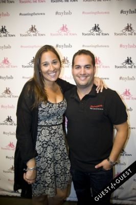 mariel and-andrew-wegrover in Toasting the Town Presents the First Annual New York Heritage Salon & Bounty
