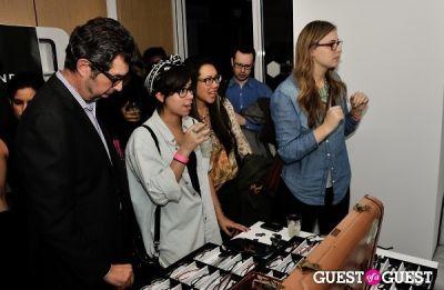 marina cockenberg in Tortoise & Blonde Eyewear Collection Launch