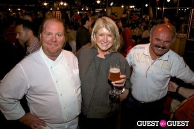 martha stewart in La Birreria Opening Party