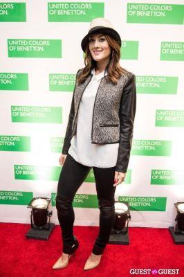 marissa schneider in #BeBenetton A/W 2013 Collection