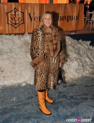 marjorie gubelmann in Veuve Clicquot celebrates Clicquot in the Snow