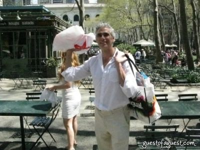 mark reay in Belgium Brunch in Bryant Park