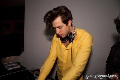 mark ronson in A Night to Benefit Haiti at Thompson LES