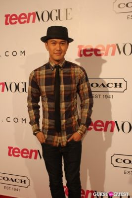 mark saldana in 9th Annual Teen Vogue 'Young Hollywood' Party Sponsored by Coach (At Paramount Studios New York City Street Back Lot)