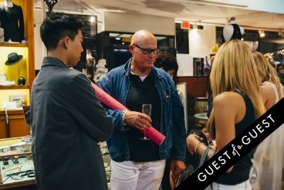 mark werts in Amanda Shi Spring 2015 Collection Preview