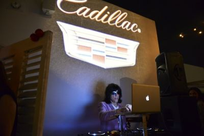 marky ramone in Marky Ramone Celebrates Marinara Madness Presented By Aquaçai And Cadillac