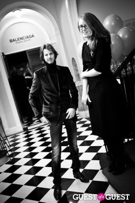 emily bogue in Queen Sophia Spanish Institute Celebrates Balenciaga