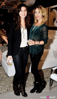kim beatrice in Luxury Listings NYC launch party at Tui Lifestyle Showroom