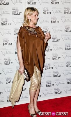 martha stewart in New York City Ballet Fall Gala Celebrates Valentino