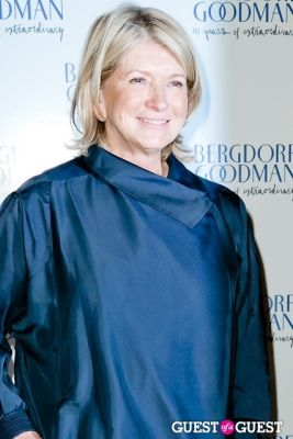 martha stewart in Bergdorf Goodman celebrates it's 111th Anniversary at the Plaza
