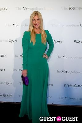 mary cryder in Yves Saint Laurent Sponsors The Metropolitan Premiere of Jules Massenet's Manon