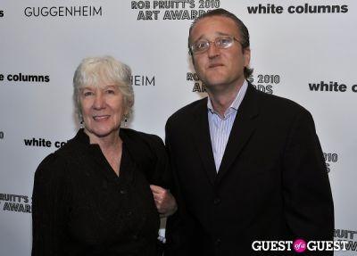 mary heilmann in Rob Pruitt's 2010 Art Awards