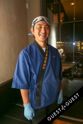 masa hashiguchi in EN Japanese Brasserie 10th Anniversary Celebration