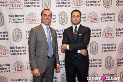 massimiliano vallariello in Italy America CC 125th Anniversary Gala