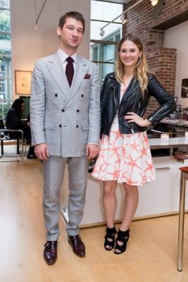 mateusd berezecki in Kamila Dmowska Holiday Trunk Show