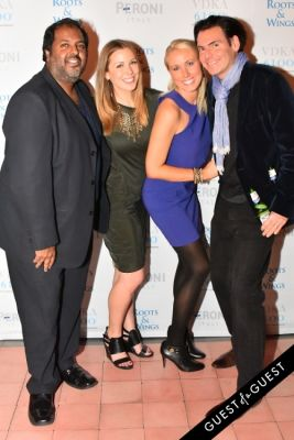 mathew thomas in The 4th Annual Silver & Gold Winter Party to Benefit Roots & Wings